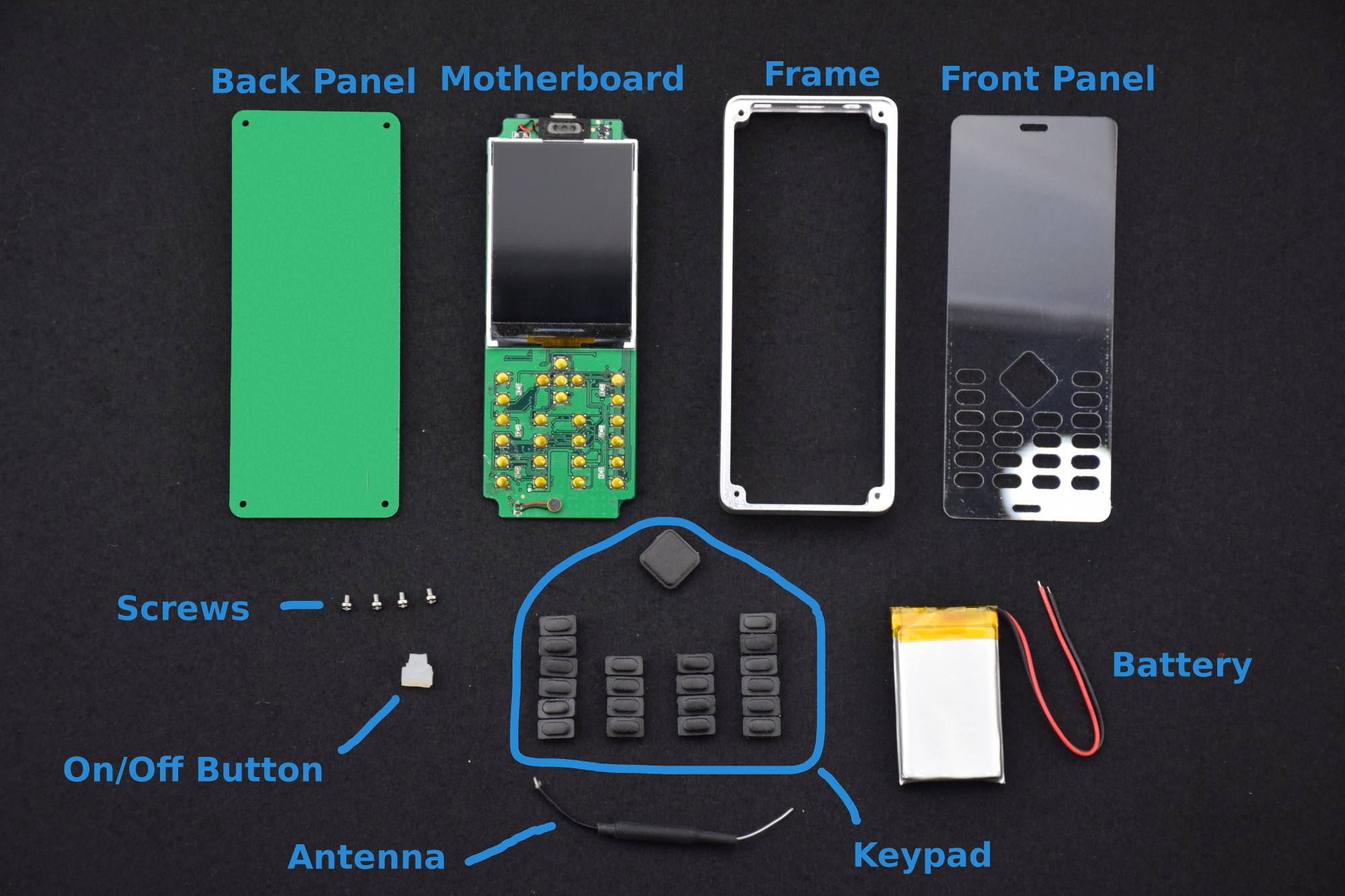 WiPhone Components