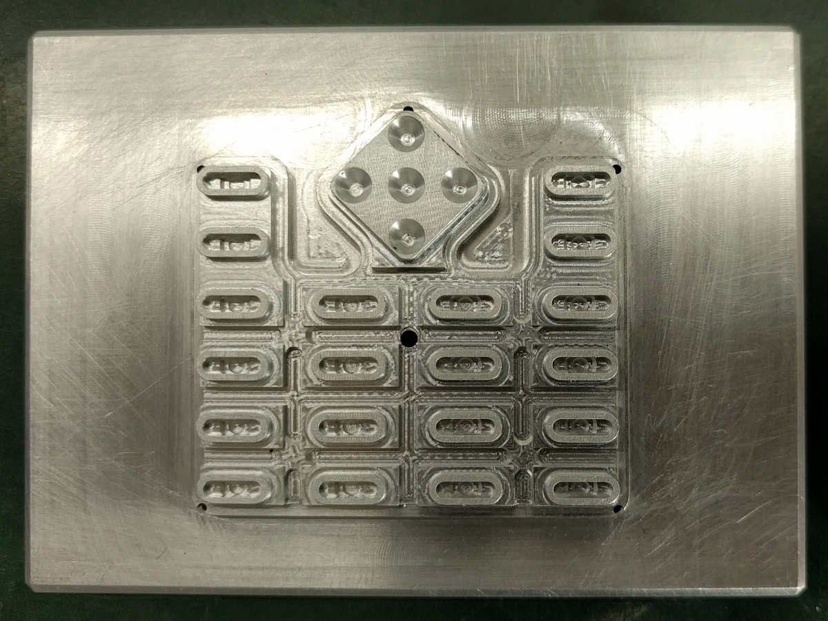 Keypad Inner Surface